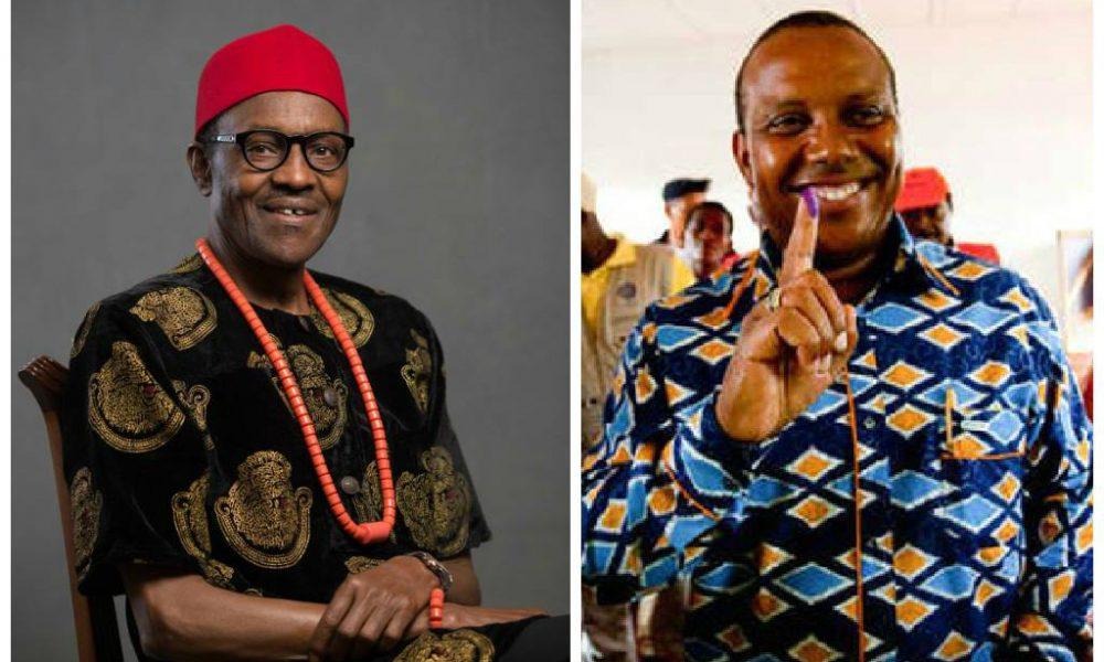 Patrice Trovoada e o novo Presidente da Nigéria