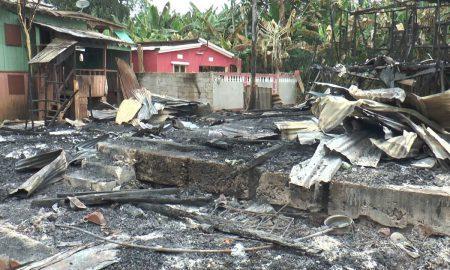Incêndio em Bobô Forro
