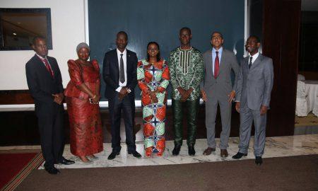 O Comité Executivo da União Panafricana da Juventude