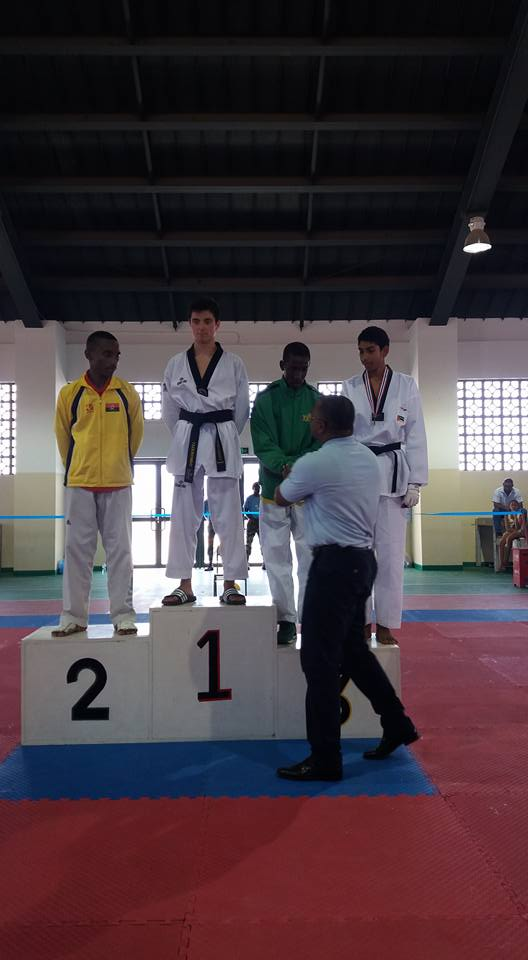Modalidade de taekwondo