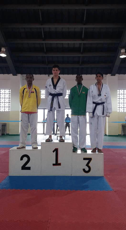 Atleta São-Tomense Etanaiel Rodrigues