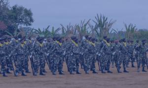 Militar Baleado